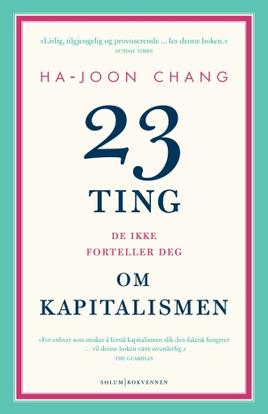 Chang Ha Joon 23 ting forside